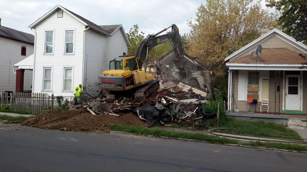 demolition program